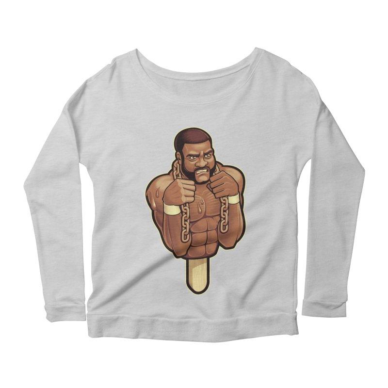 JunkyardFudge Women's Scoop Neck Longsleeve T-Shirt by Leon's Artist Shop