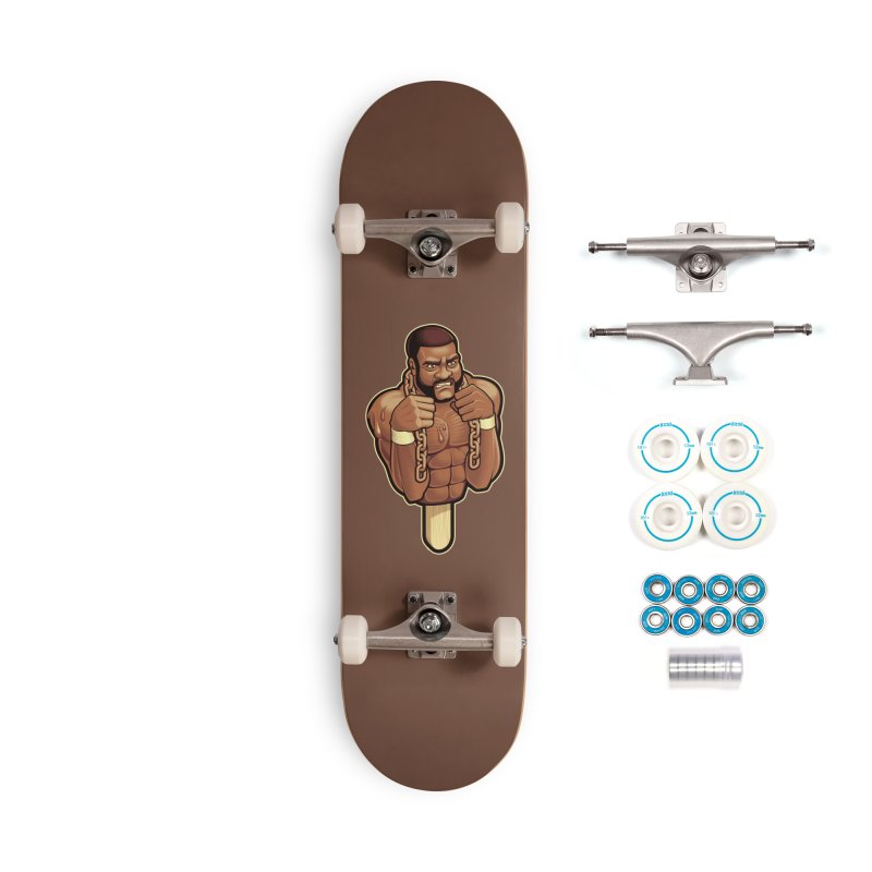 JunkyardFudge Accessories Complete - Basic Skateboard by Leon's Artist Shop