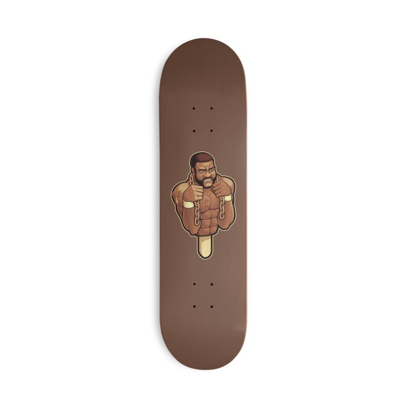 JunkyardFudge Accessories Deck Only Skateboard by Leon's Artist Shop