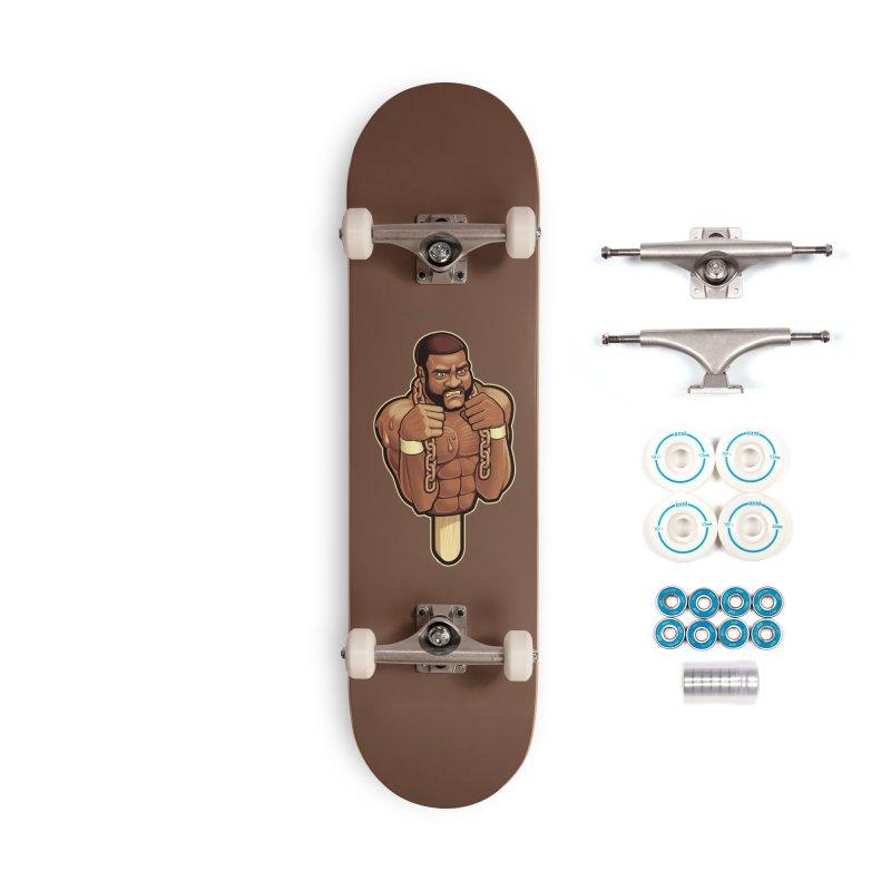 JunkyardFudge Accessories Skateboard by Leon's Artist Shop