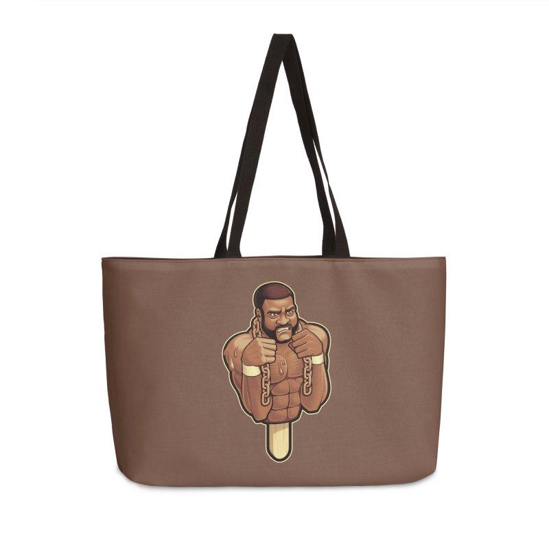 JunkyardFudge Accessories Weekender Bag Bag by Leon's Artist Shop