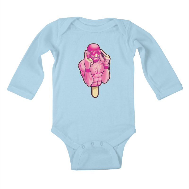 SavageCherry Kids Baby Longsleeve Bodysuit by Leon's Artist Shop