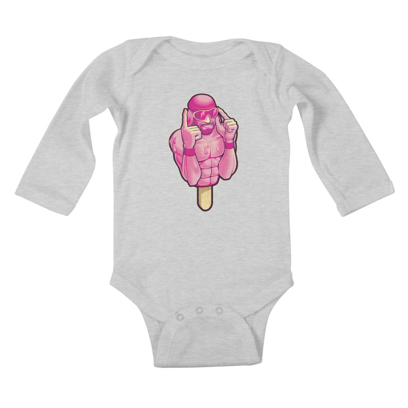 SavageCherry Kids Baby Longsleeve Bodysuit by Leon's Artist Shop