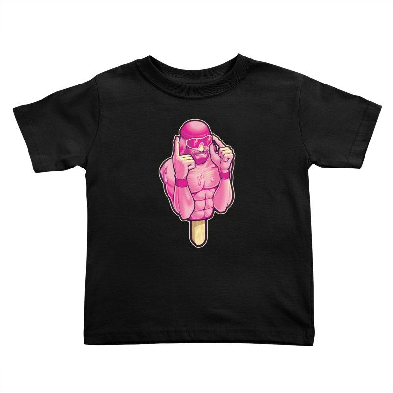 SavageCherry Kids Toddler T-Shirt by Leon's Artist Shop