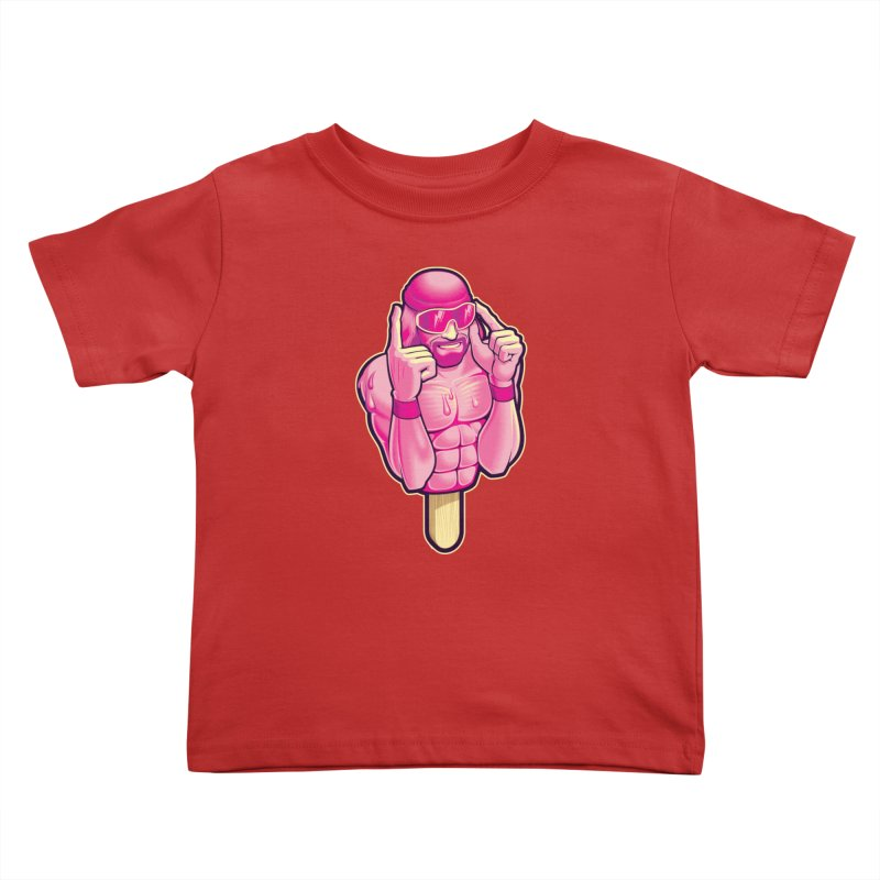 SavageCherry Kids Toddler T-Shirt by Leon's Artist Shop
