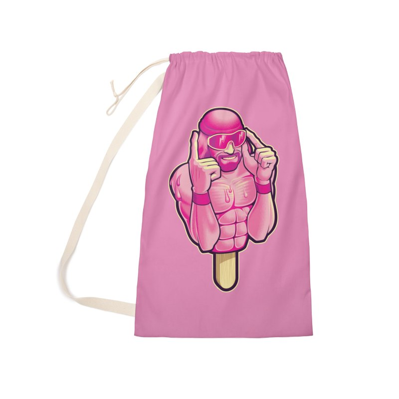 SavageCherry Accessories Laundry Bag Bag by Leon's Artist Shop