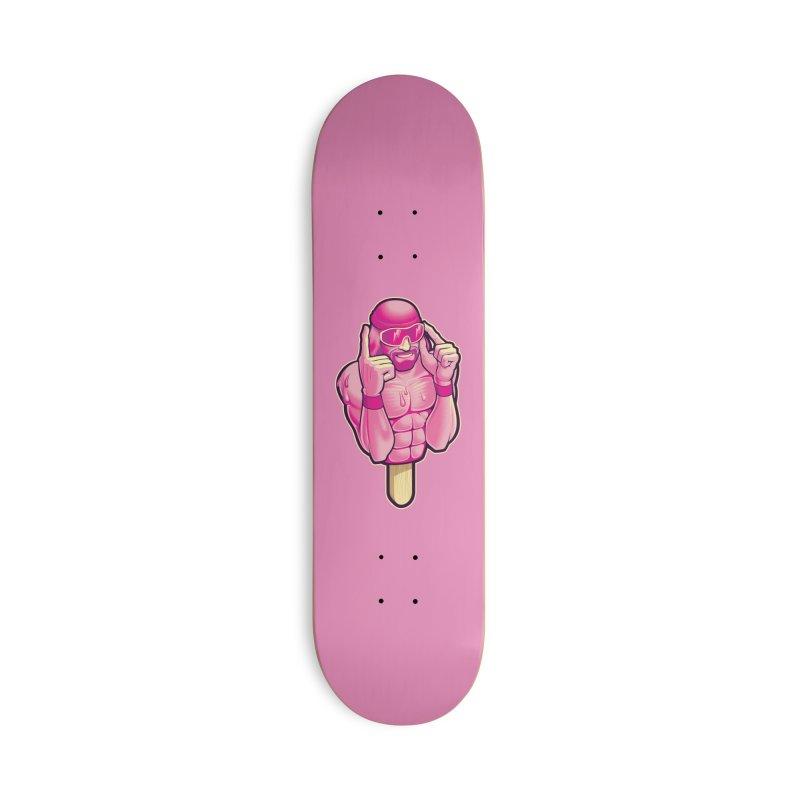 SavageCherry Accessories Skateboard by Leon's Artist Shop