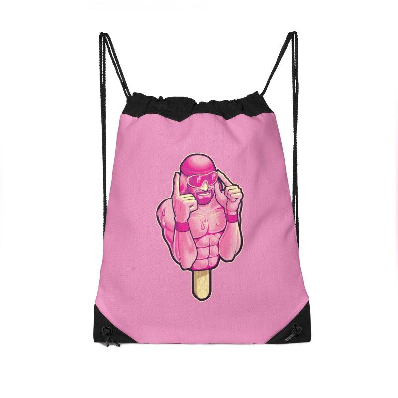 SavageCherry Accessories Drawstring Bag Bag by Leon's Artist Shop