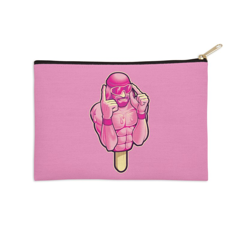 SavageCherry Accessories Zip Pouch by Leon's Artist Shop