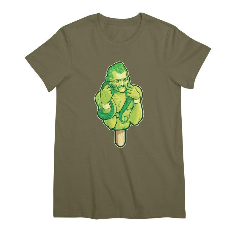 SwampLime Women's T-Shirt by Leon's Artist Shop