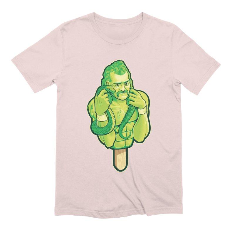 SwampLime Men's Extra Soft T-Shirt by Leon's Artist Shop