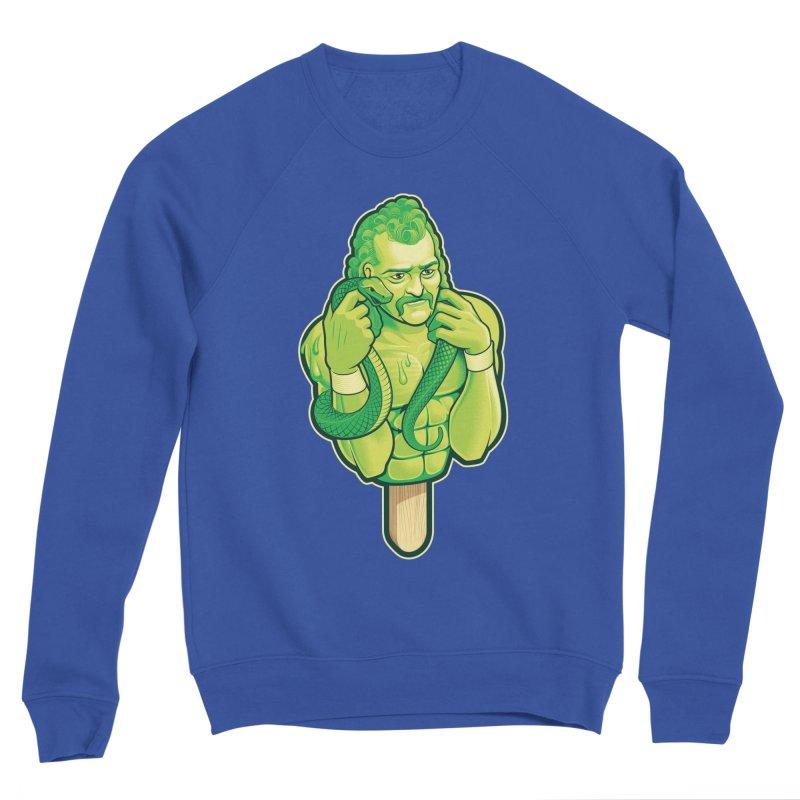SwampLime Men's Sponge Fleece Sweatshirt by Leon's Artist Shop