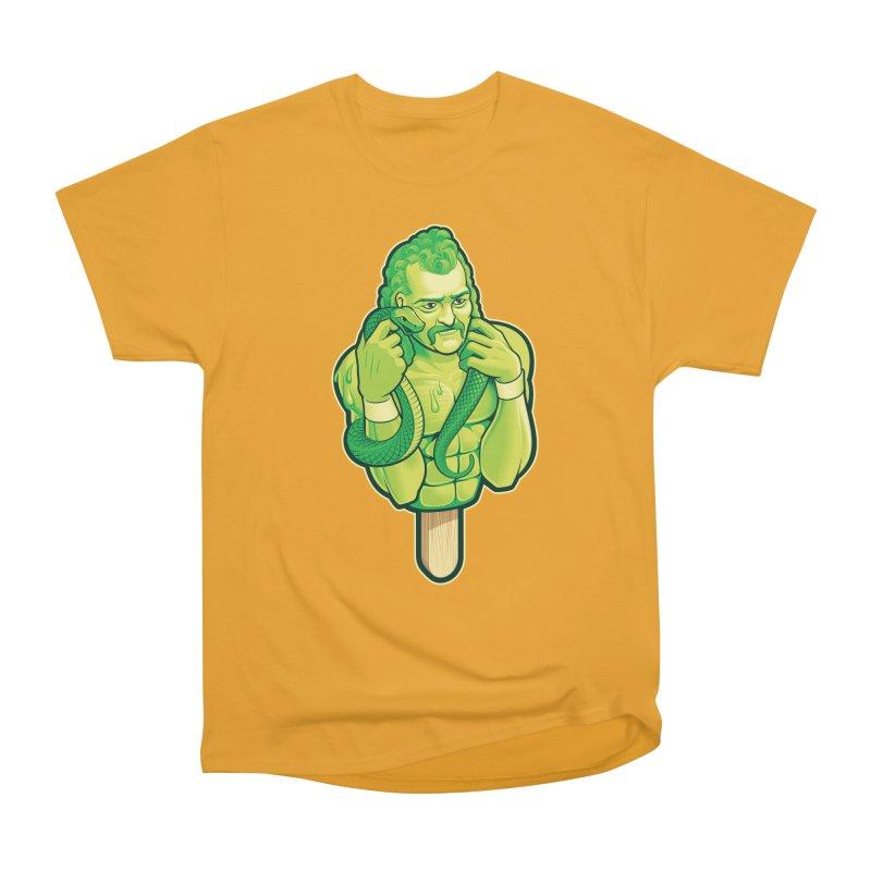 SwampLime Men's Heavyweight T-Shirt by Leon's Artist Shop