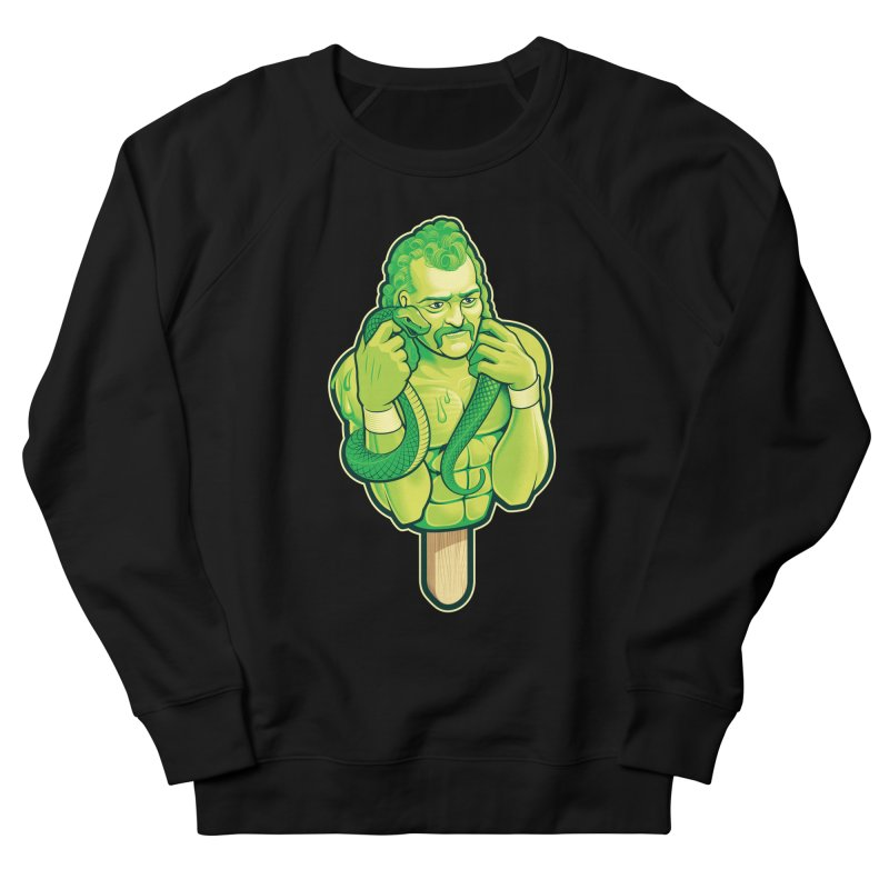 SwampLime Men's French Terry Sweatshirt by Leon's Artist Shop