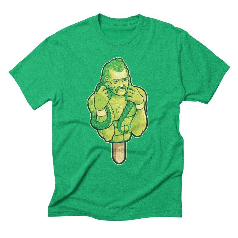 SwampLime Men's Triblend T-Shirt by Leon's Artist Shop