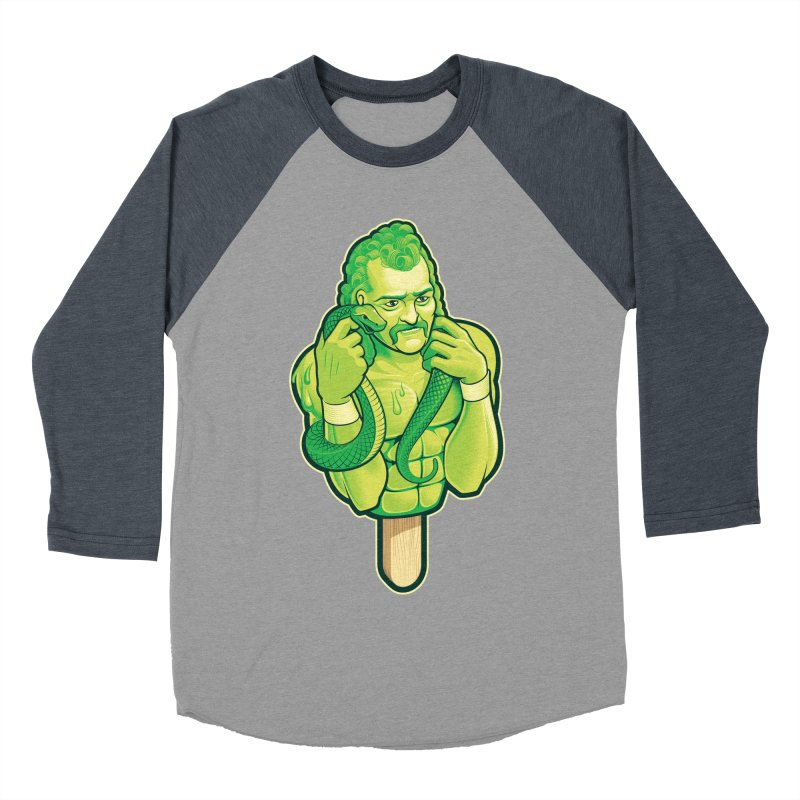 SwampLime Women's Baseball Triblend Longsleeve T-Shirt by Leon's Artist Shop