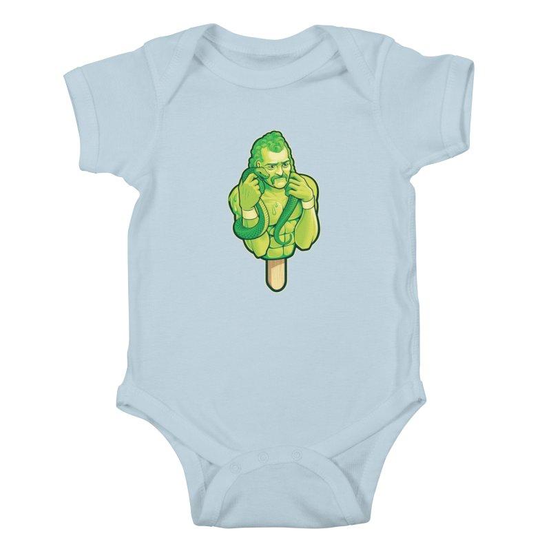 SwampLime Kids Baby Bodysuit by Leon's Artist Shop