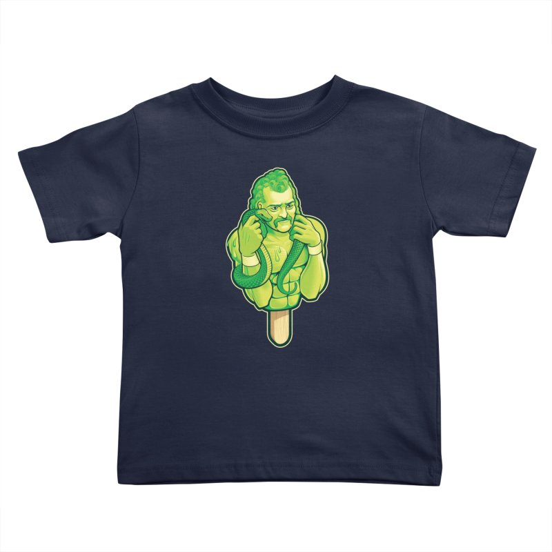 SwampLime Kids Toddler T-Shirt by Leon's Artist Shop