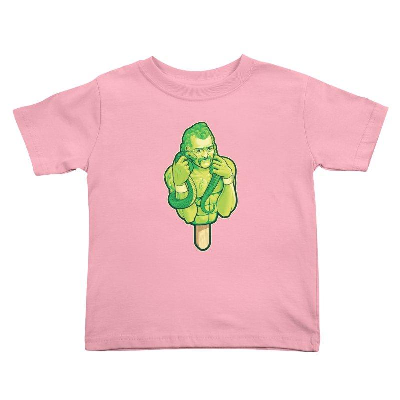 SwampLime Kids Toddler T-Shirt by Leon's Artist Shop