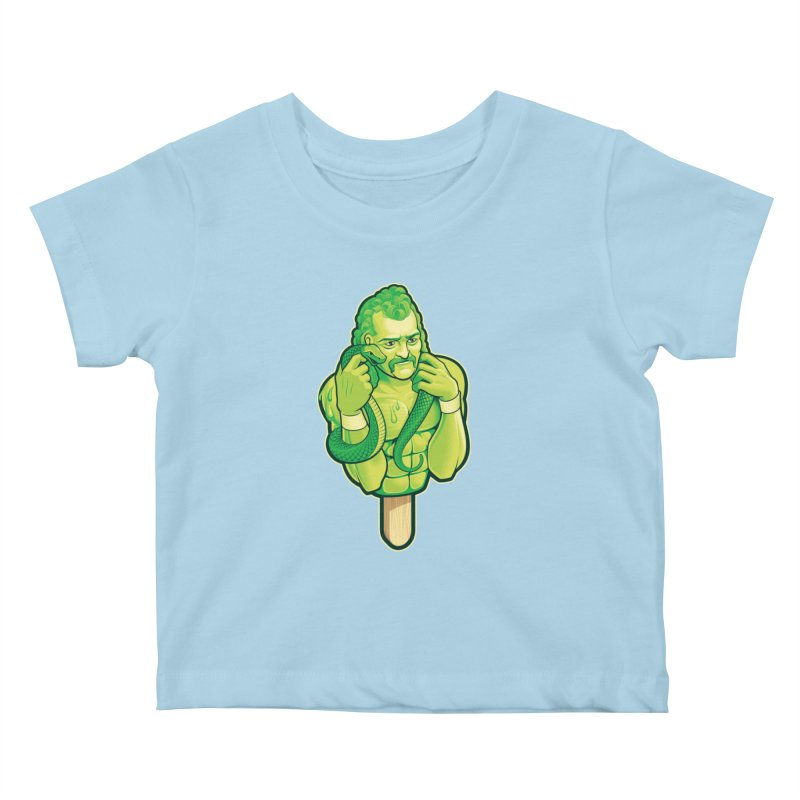 SwampLime Kids Baby T-Shirt by Leon's Artist Shop