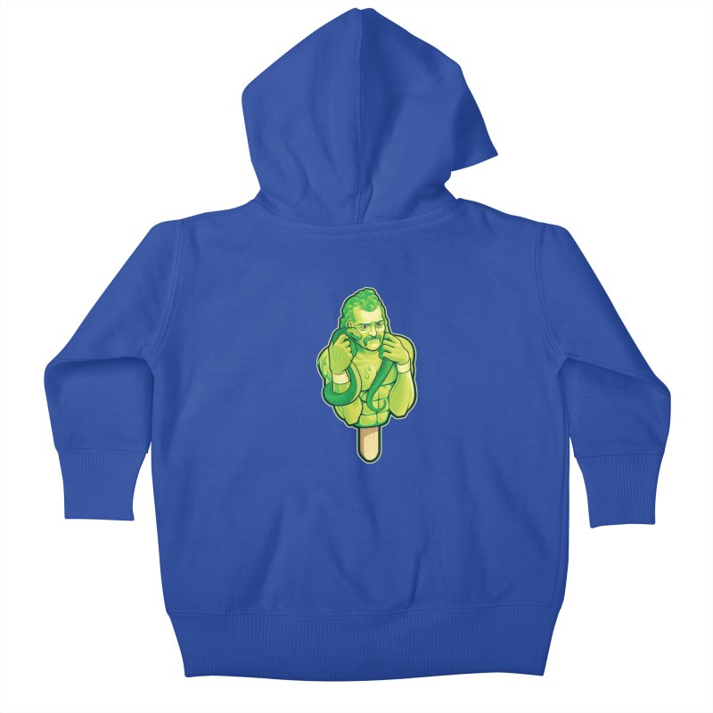 SwampLime Kids Baby Zip-Up Hoody by Leon's Artist Shop