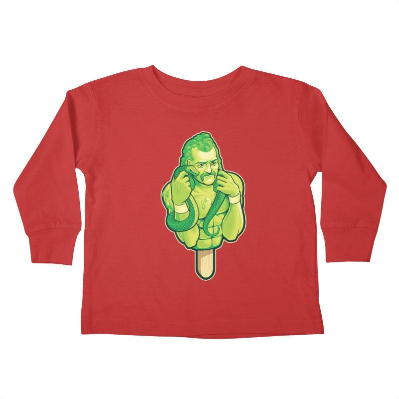 SwampLime Kids Toddler Longsleeve T-Shirt by Leon's Artist Shop