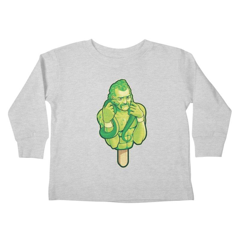 SwampLime Kids Toddler Longsleeve T-Shirt by Leon's Artist Shop