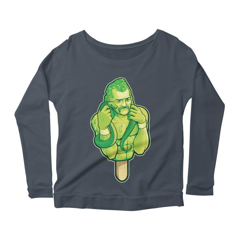 SwampLime Women's Scoop Neck Longsleeve T-Shirt by Leon's Artist Shop
