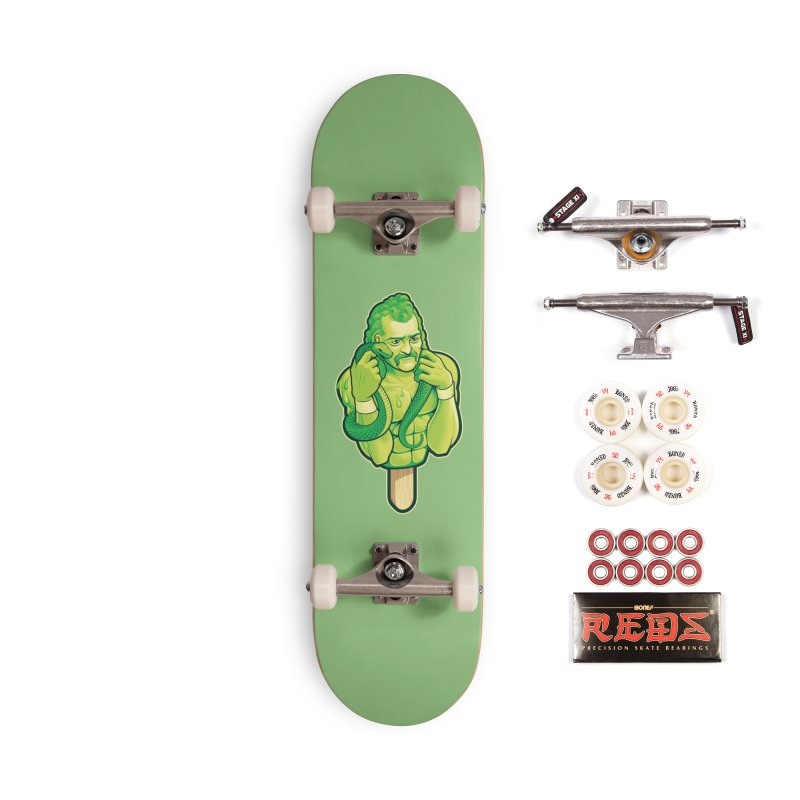 SwampLime Accessories Complete - Pro Skateboard by Leon's Artist Shop