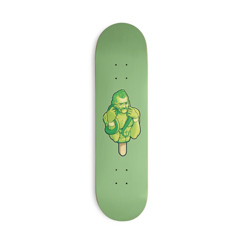 SwampLime Accessories Deck Only Skateboard by Leon's Artist Shop