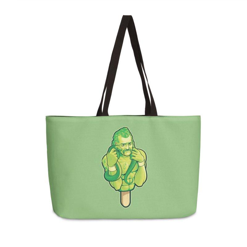 SwampLime Accessories Weekender Bag Bag by Leon's Artist Shop