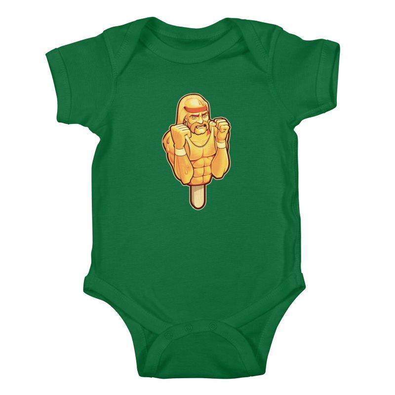 RealAmericanLemon Kids Baby Bodysuit by Leon's Artist Shop