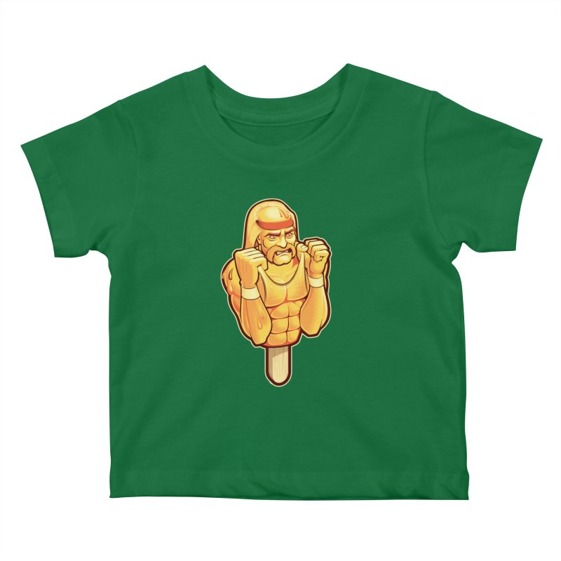 RealAmericanLemon Kids Baby T-Shirt by Leon's Artist Shop