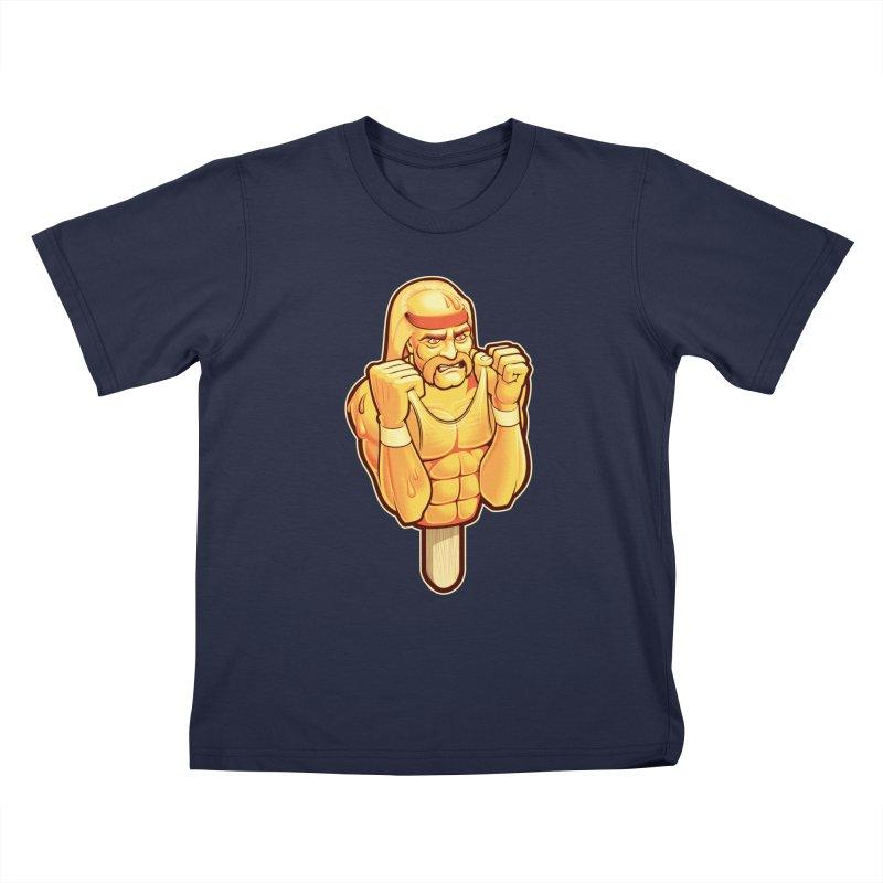 RealAmericanLemon Kids T-Shirt by Leon's Artist Shop