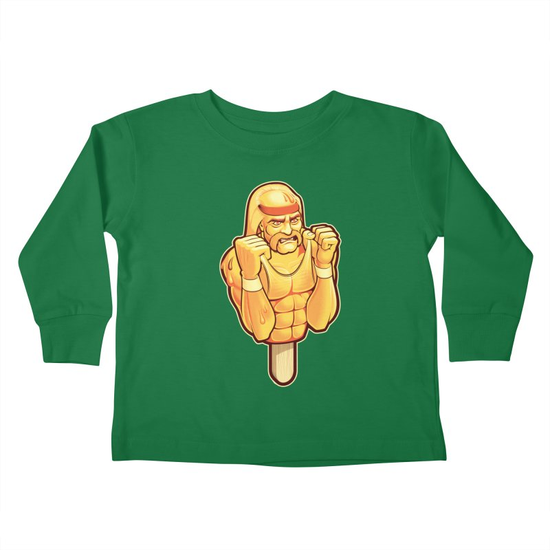 RealAmericanLemon Kids Toddler Longsleeve T-Shirt by Leon's Artist Shop