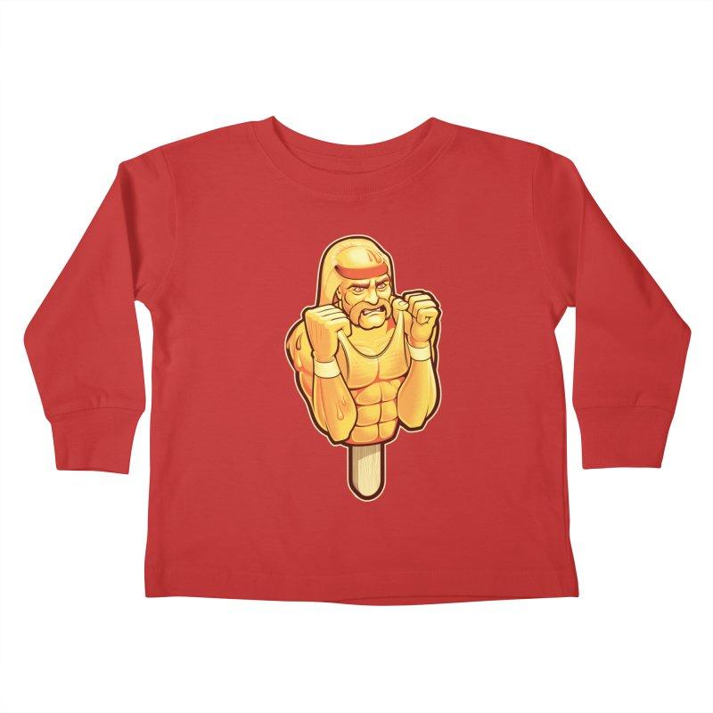 RealAmericanLemon Kids Toddler Longsleeve T-Shirt by Leon's Artist Shop
