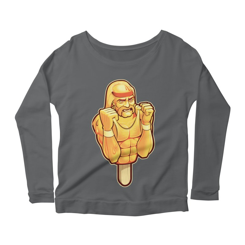 RealAmericanLemon Women's Scoop Neck Longsleeve T-Shirt by Leon's Artist Shop