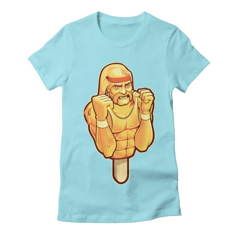 RealAmericanLemon Women's Fitted T-Shirt by Leon's Artist Shop