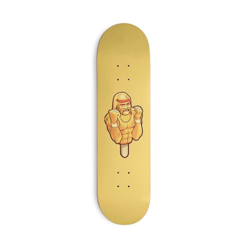 RealAmericanLemon Accessories Skateboard by Leon's Artist Shop