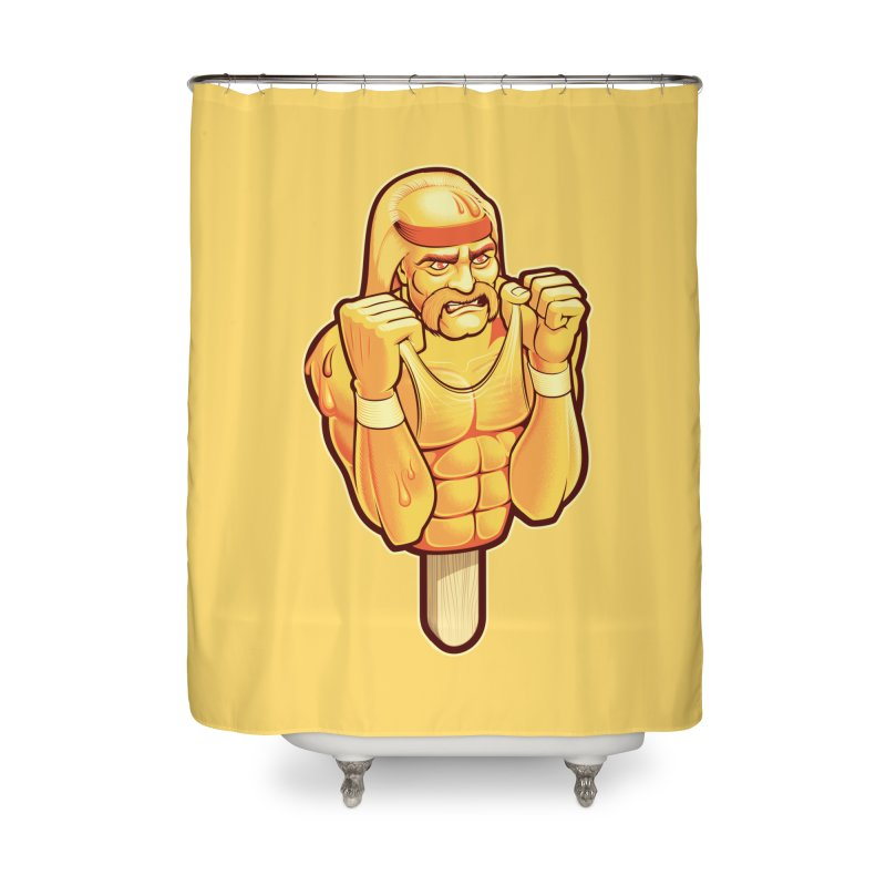 RealAmericanLemon Home Shower Curtain by Leon's Artist Shop