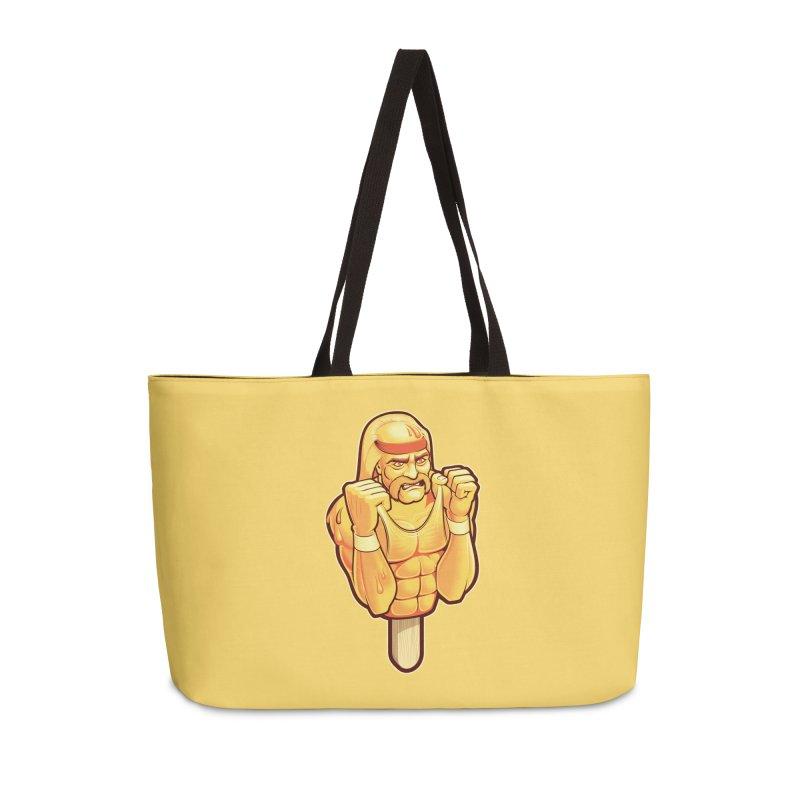 RealAmericanLemon Accessories Weekender Bag Bag by Leon's Artist Shop
