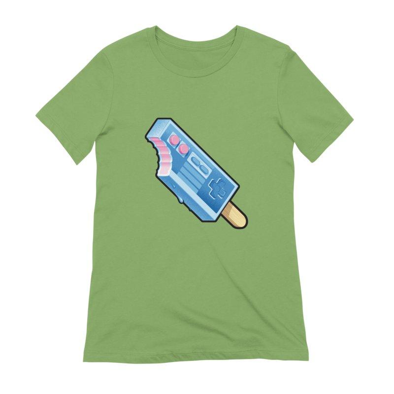ABUpDown Women's Extra Soft T-Shirt by Leon's Artist Shop