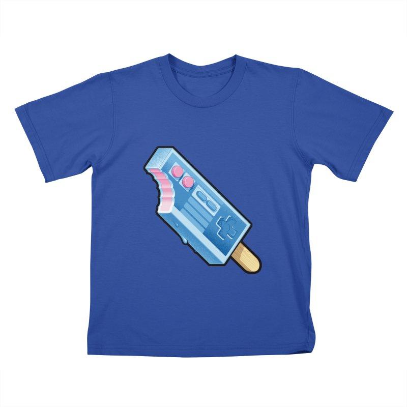 ABUpDown Kids T-Shirt by Leon's Artist Shop