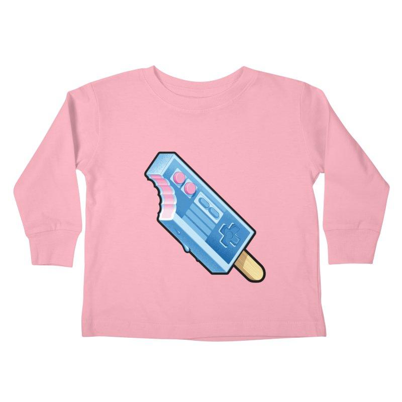 ABUpDown Kids Toddler Longsleeve T-Shirt by Leon's Artist Shop