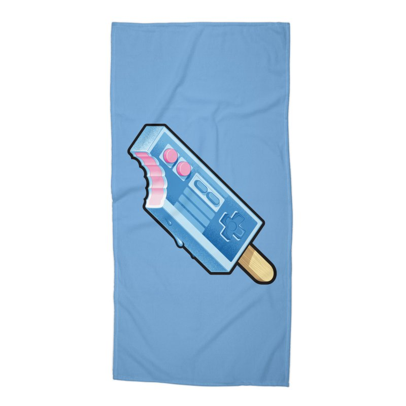ABUpDown Accessories Beach Towel by Leon's Artist Shop