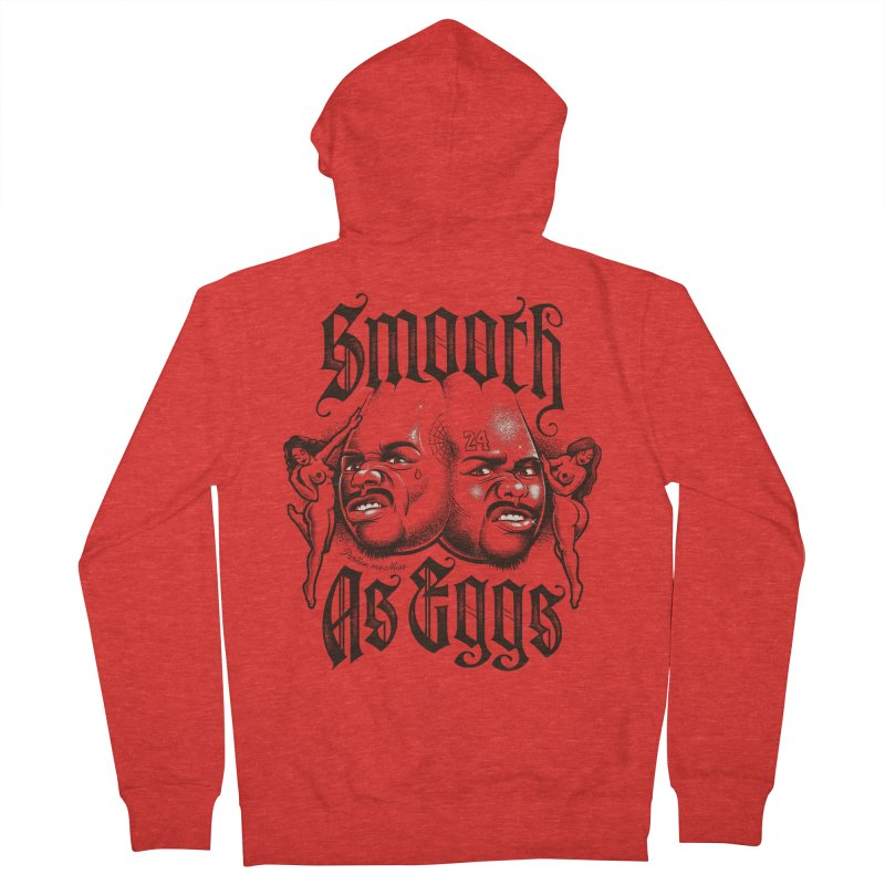 Smooth As Eggs Women's Zip-Up Hoody by Leon's Artist Shop