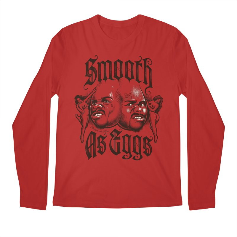 Smooth As Eggs Men's Longsleeve T-Shirt by Leon's Artist Shop