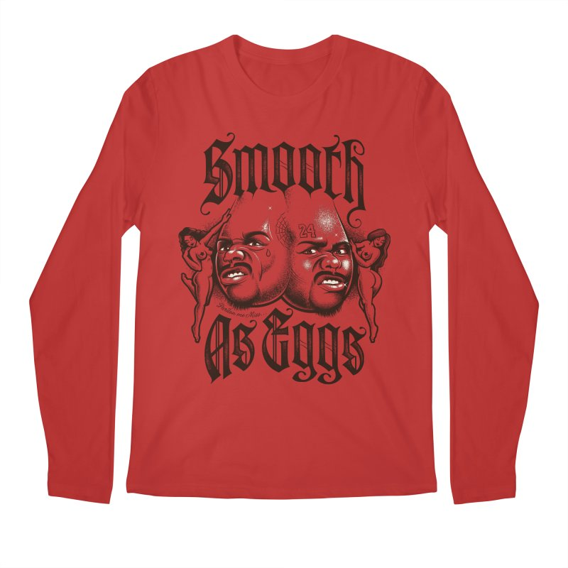 Smooth As Eggs Men's Regular Longsleeve T-Shirt by Leon's Artist Shop