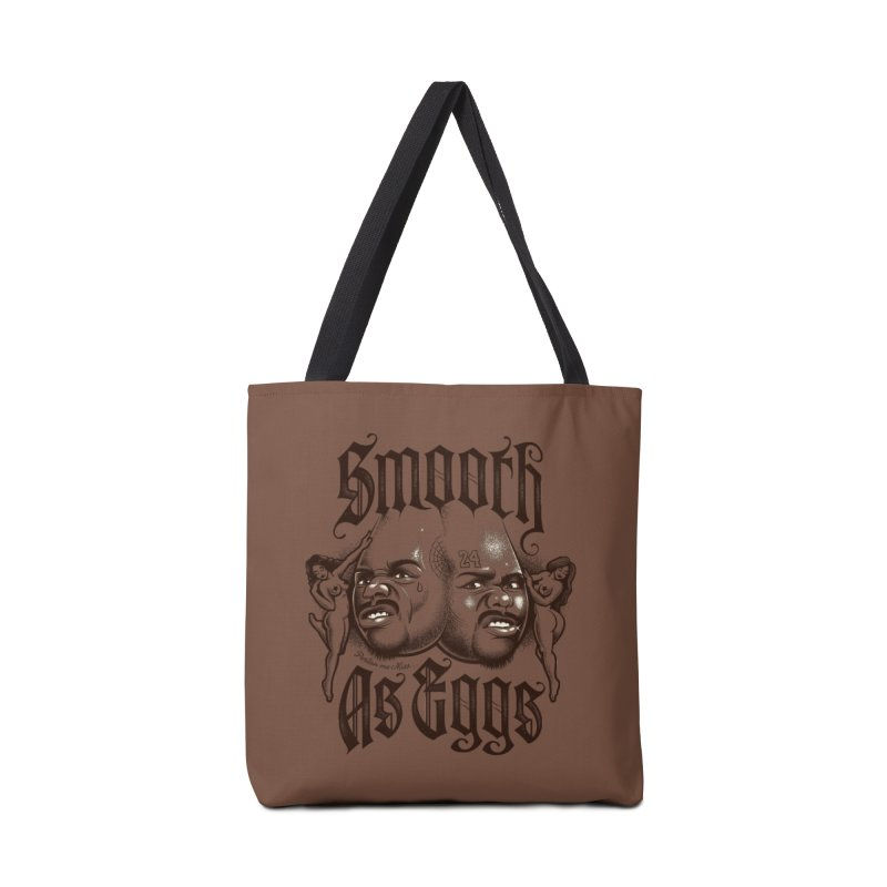 Smooth As Eggs Accessories Tote Bag Bag by Leon's Artist Shop