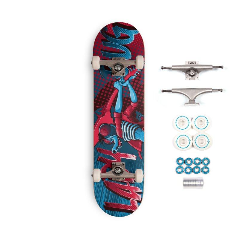 Ladyboard3 Accessories Skateboard by Leon's Artist Shop